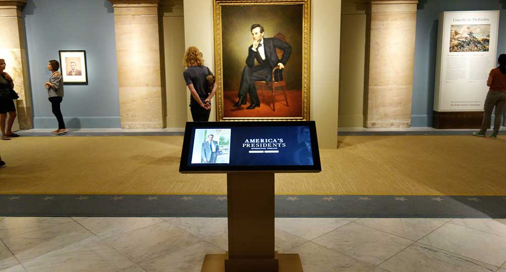Ideum Creative Director to Host Interactive Tour at Smithsonian National Portrait Gallery