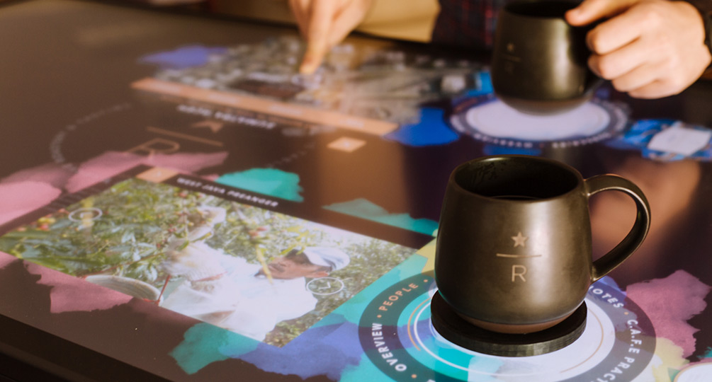 Starbucks Interactive Coffee Tasting Experience