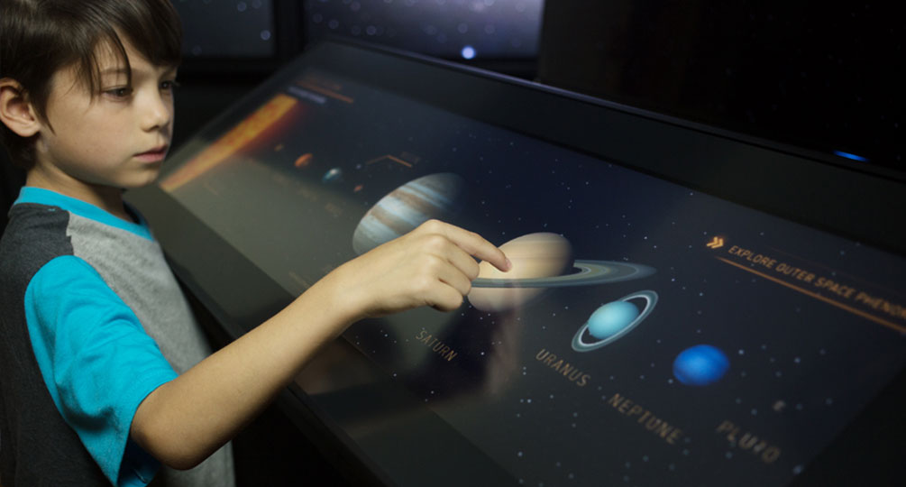 Explore the Solar System with Tap-A-Planet