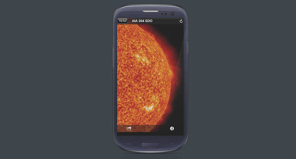 NASA Space Weather Viewer (for Mobile)