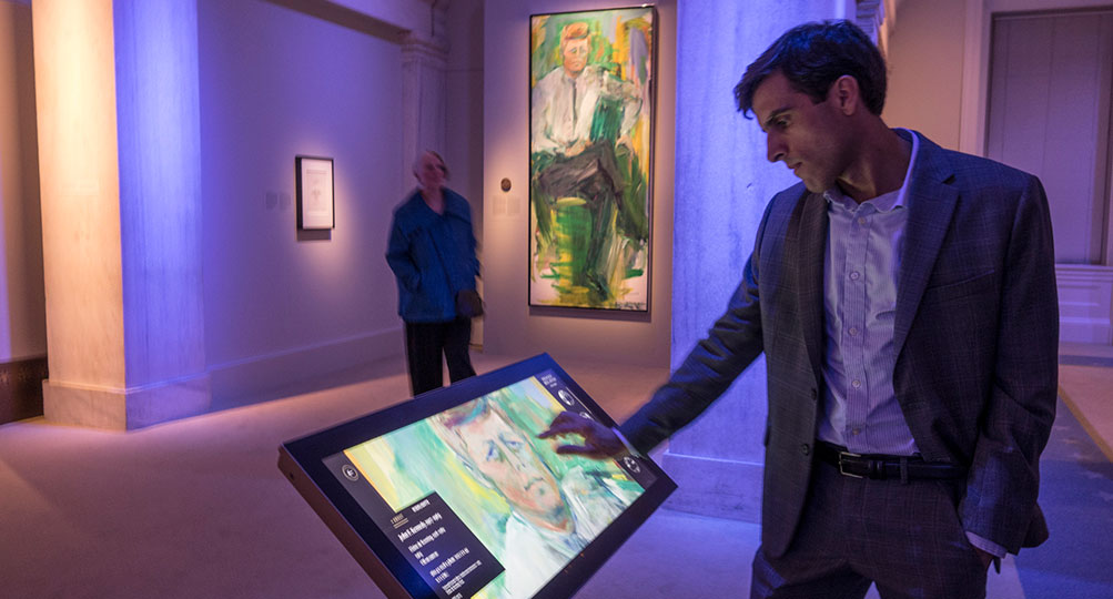 Digital Exhibits Bring Interactive Exploration to National Portrait Gallery
