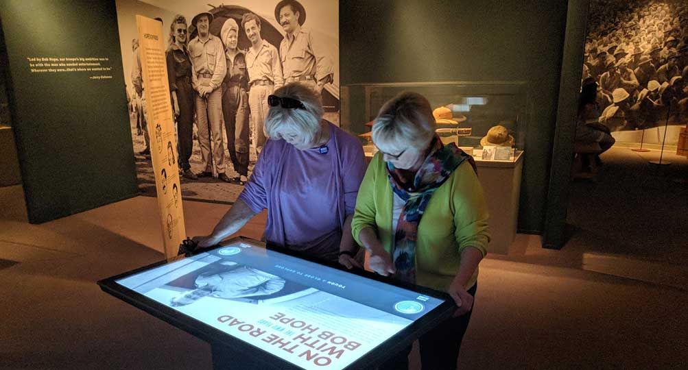 WWII Museum Visitors Experience Bob Hope's Wartime USO Tours