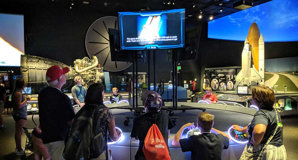 Moving Beyond Earth: Reimagining Interactive Exhibits with the Smithsonian Air and Space Museum