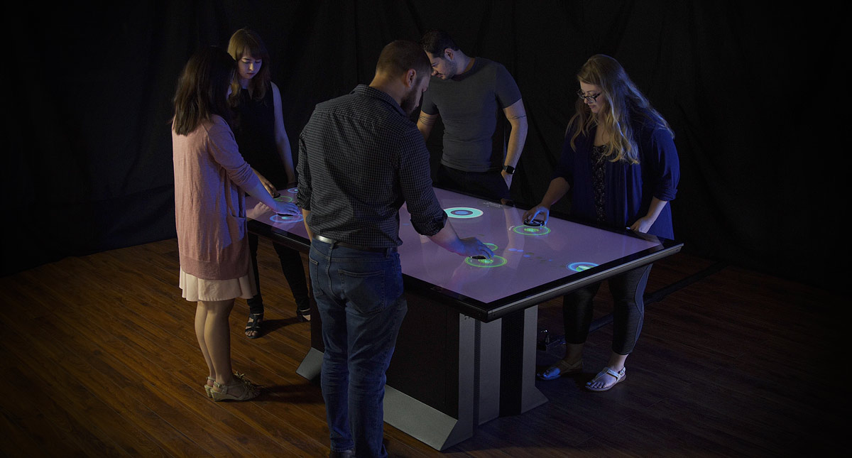 "Tangible Engine Now Available for Colossus 86"" Touch Table"