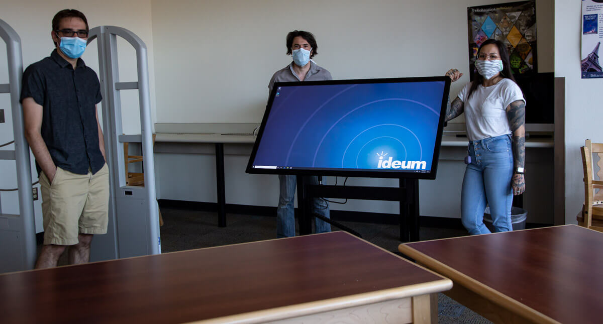 Ideum Donates Touch Display System to Atrisco Heritage Academy High School