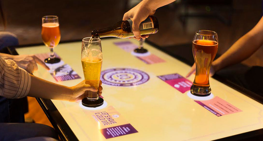 Interactive Beer Tasting Demo Highlights New Tangible Engine Software