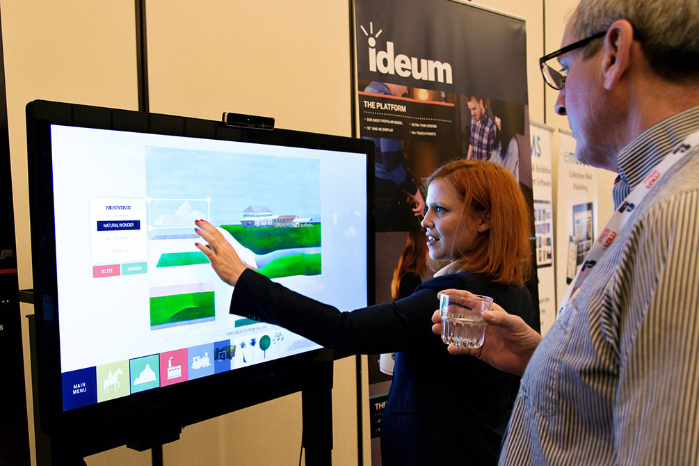 Exhibition Booth Meaning : Ideum to exhibit at conferences across north america in
