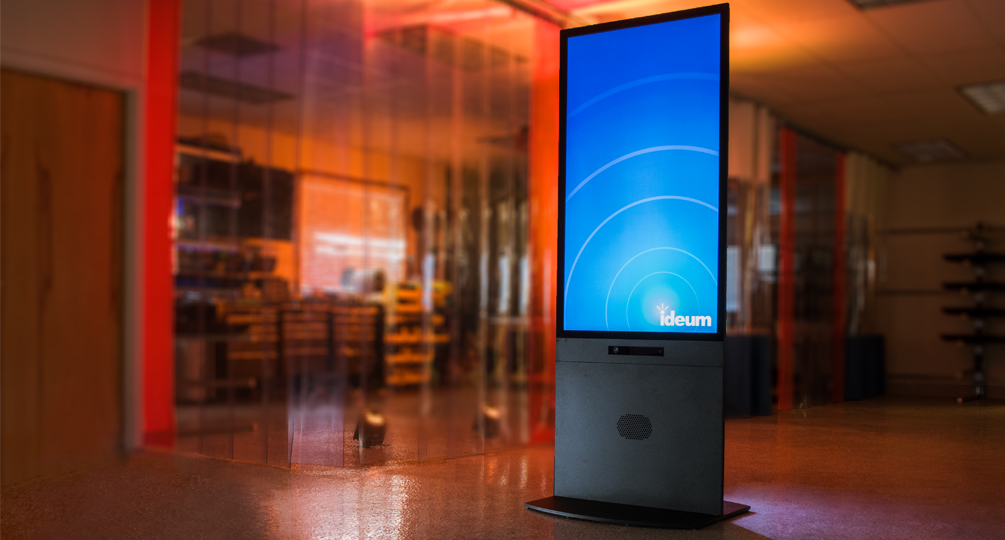 Portrait Touch and Motion Kiosk, Redesigned | Ideum