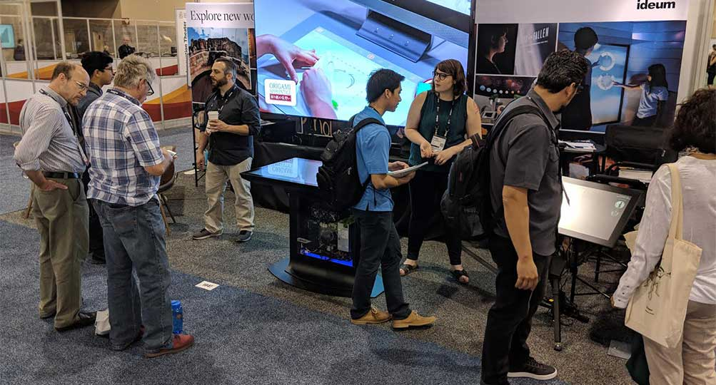 Ideum Showcases State-of-the-Art Hardware and Software at AAM Conference