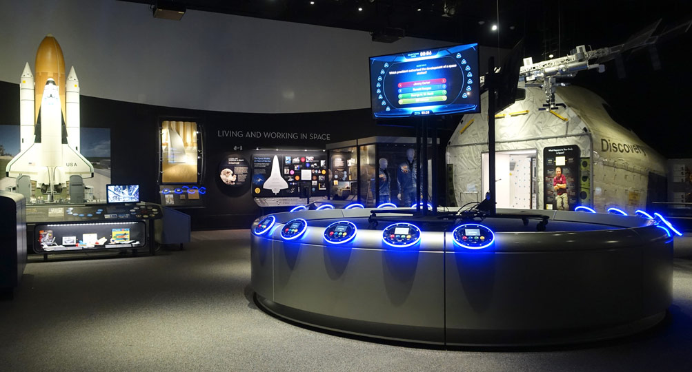 New Interactive Exhibits Tested and Installed at Smithsonian Air and Space Museum