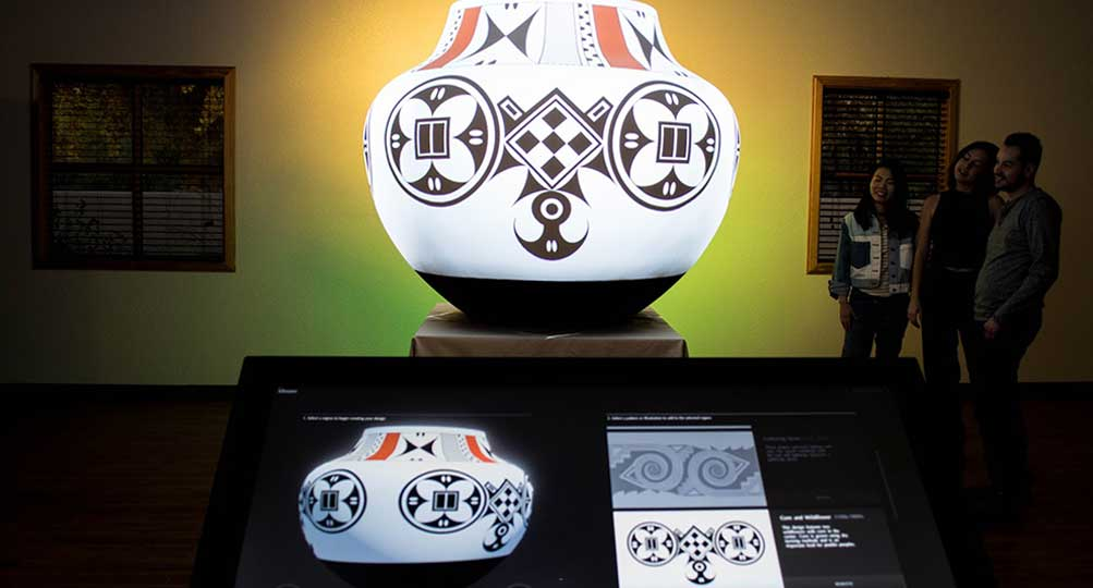 Exploring Pueblo Pottery Project Receives SEGD Design Award